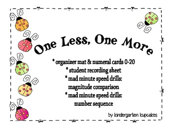 one more, one less: number sequence and... by kindergarten