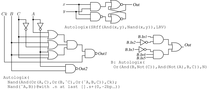 Circuit_macros Version 9.1.3: Examples of electric