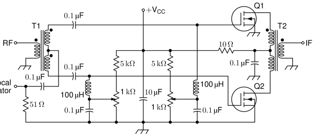 Circuit_macros Version 9.0: Examples of electric circuits