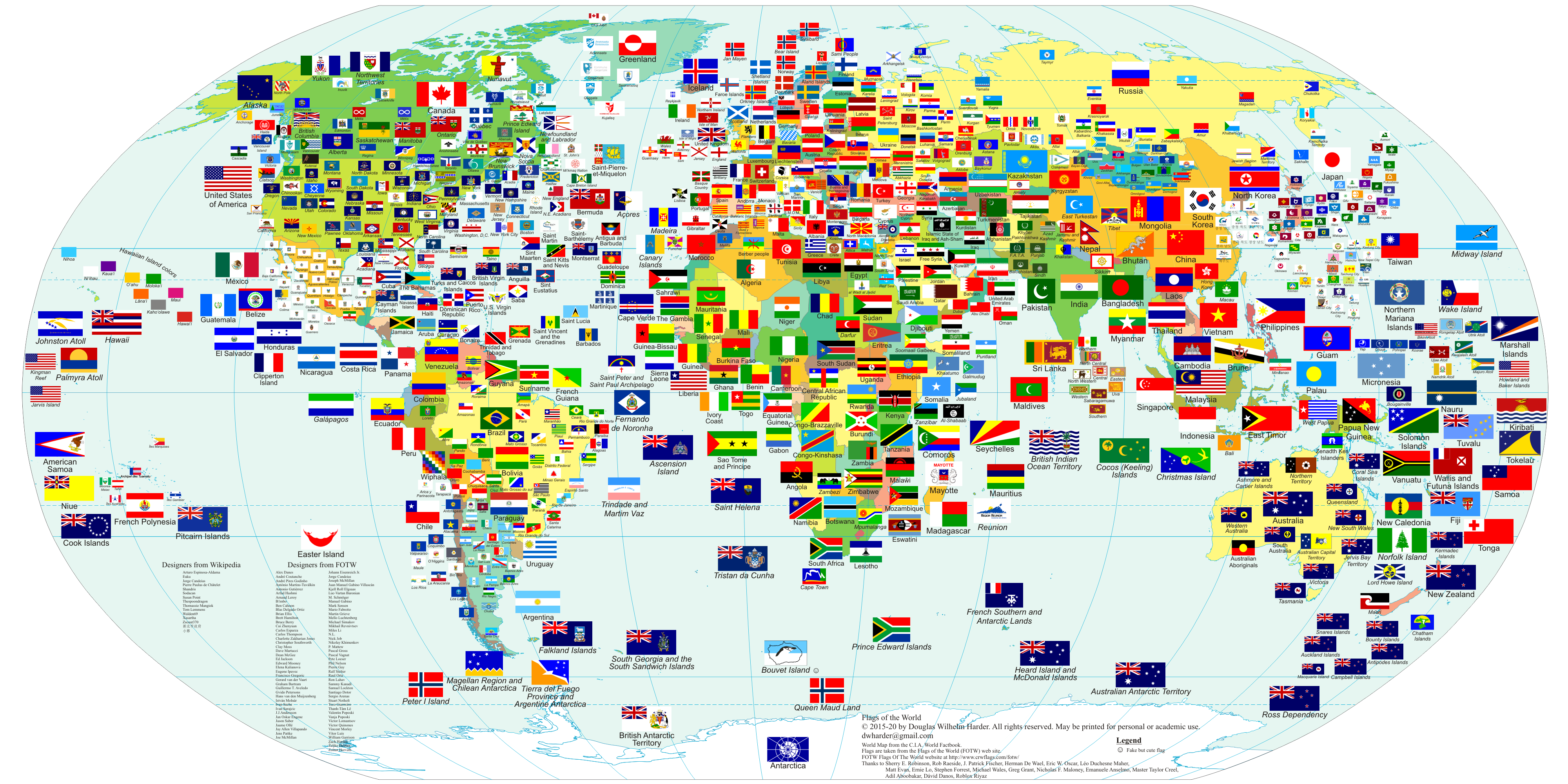 Flags Of The World With Country Names Countries And Some