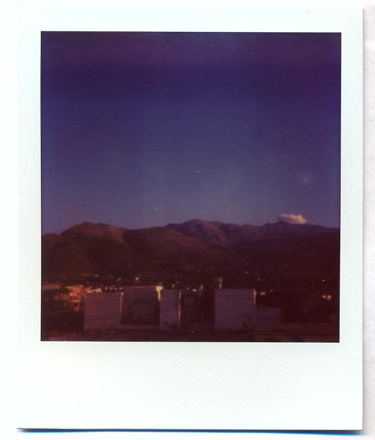 Polaroid 35: Our Mountain View Crete
