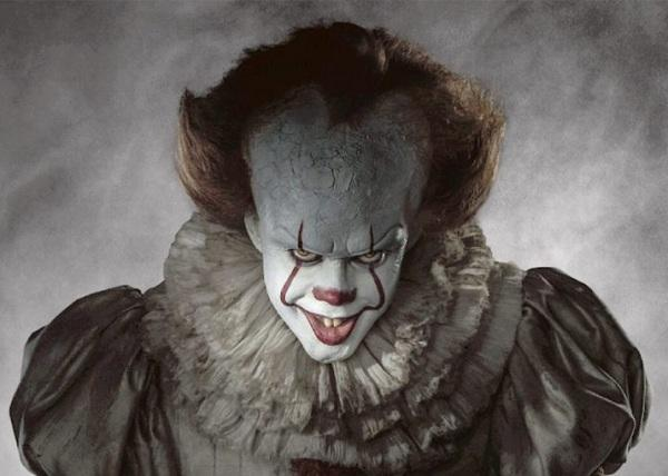Bill as Clown for the movie IT