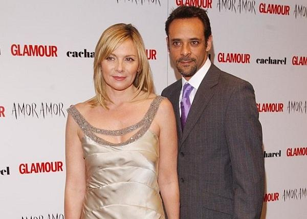 Alexander Siddig and Kim Victoria Cattrall