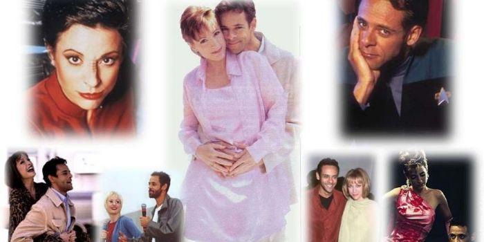 Alexander Siddig and his ex-wife Nana Visitor