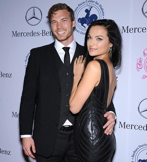 Christina Ochoa and Her Former Actor Boyfriend Derek Theler