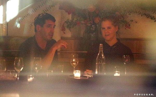 Amy Schumer with her new boyfriend Chris Fischer