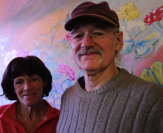 Bonnie Dupree with her husband Atz Lee