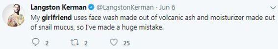 Langston Kerman Girlfriend in Twitter