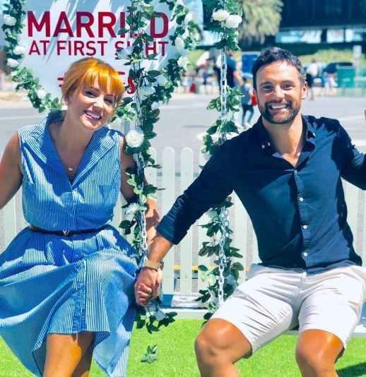 Cameron Merchant wife, partner, wedding