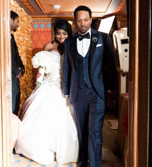 Mendeecees Harris wife, partner, wedding
