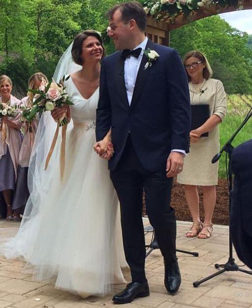Kasie Hunt husband, wedding