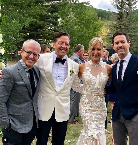 Rick McVey wife, wedding