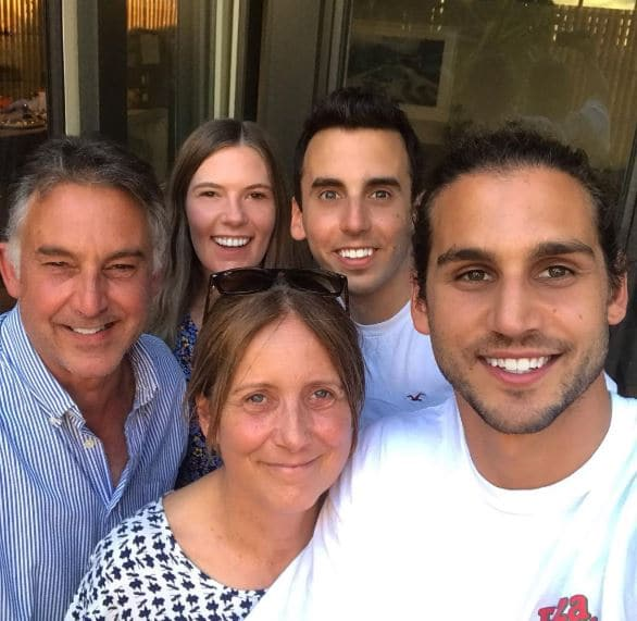 Michael Brunelli family, parents, siblings