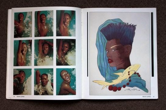 From his gathered Instamatics, Grace Jones