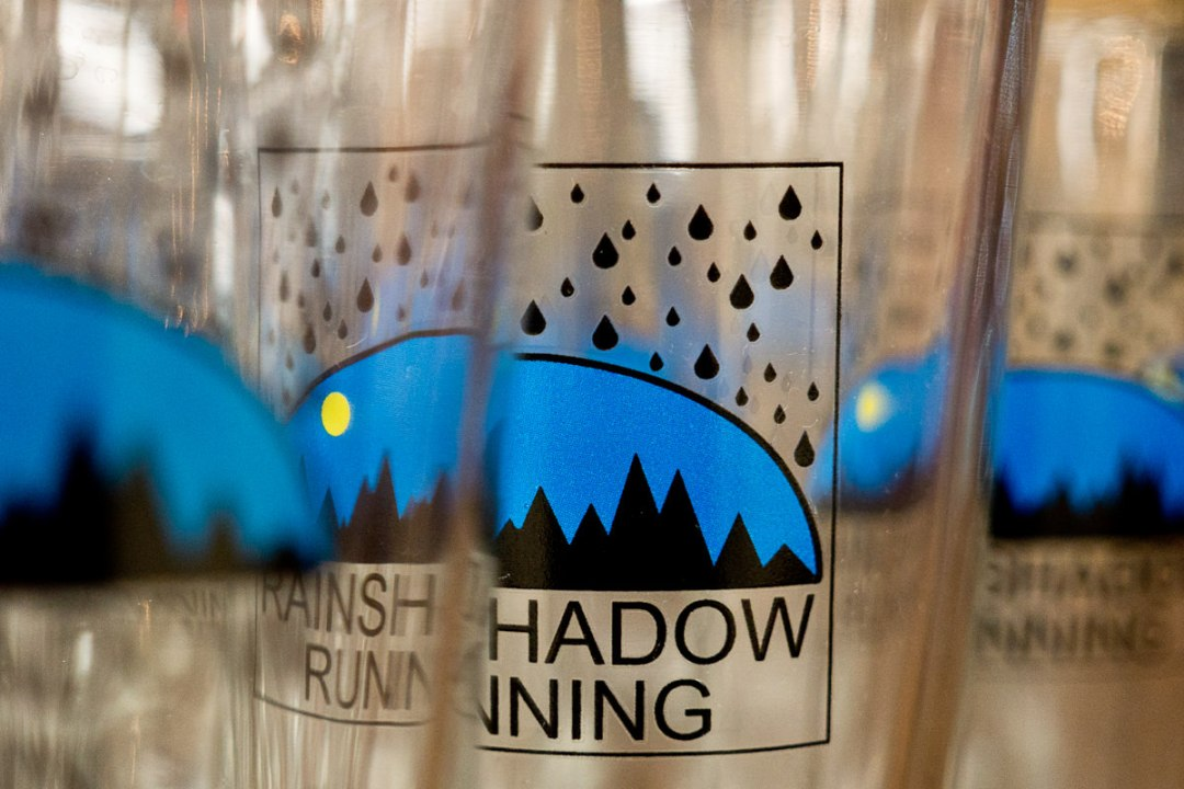 orcas 50k - rain shadow running pint glasses