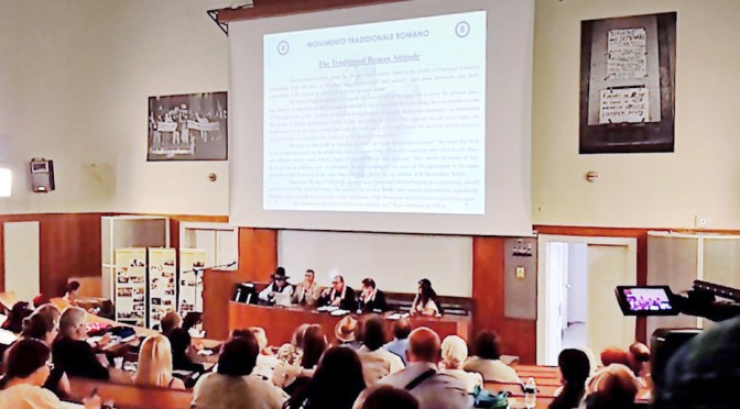 The MTR intervenes in Prague at the European Congress of ethnic / ECER religions. The chronicle of four days