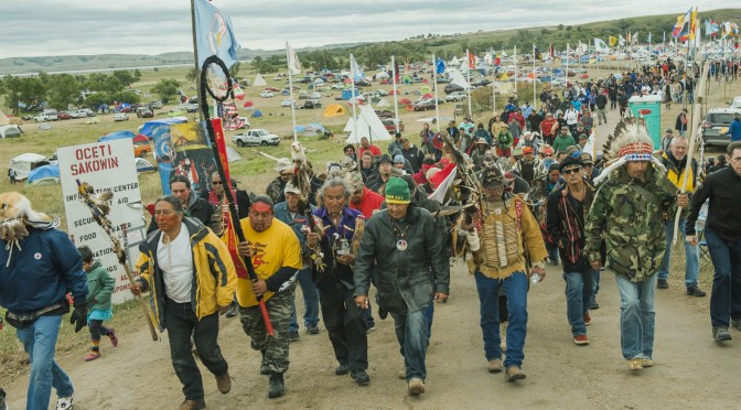 E.C.E.R. ISSUES STATEMENT ON INDIGENOUS RESISTANCE AT STANDING ROCK