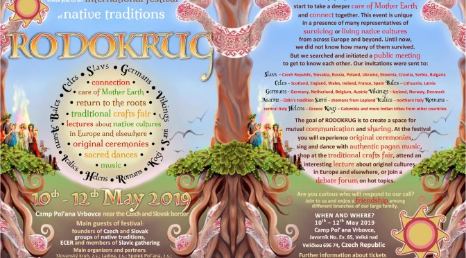 An invitation to Rodokrug – an international festival of native traditions