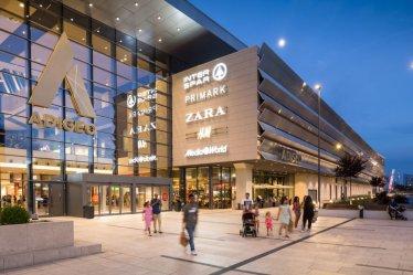shopping centre verona mall center modern european ece biggest italy centers go magazine shops awards area inner primark zara 1500