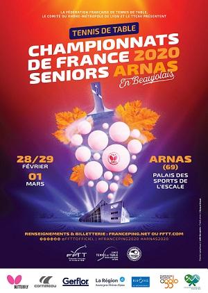 Affiche Championnat seniors 2019