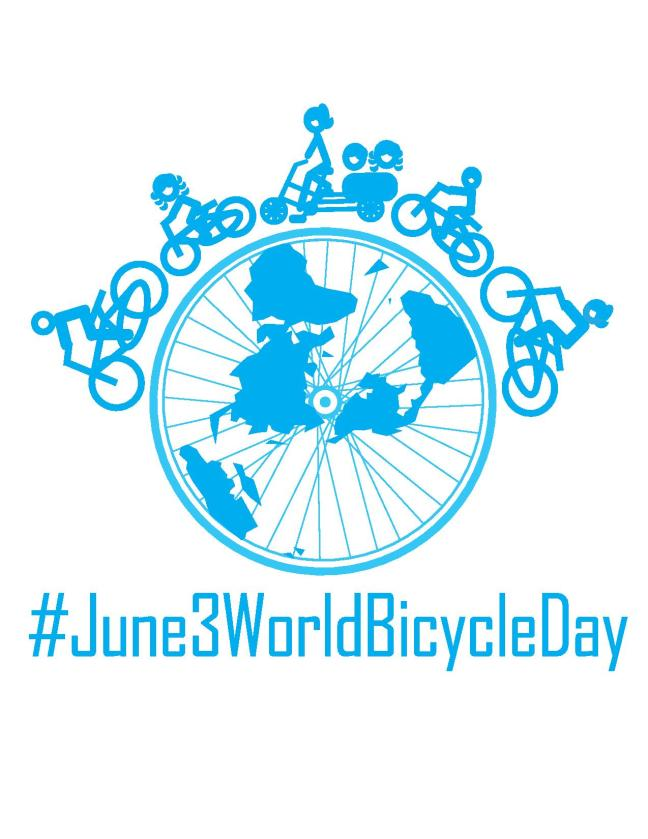 World Bicycle Day logo from European Cyclists' Federation