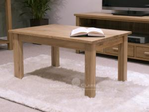 Bury Solid Oak small 3ft small coffee table