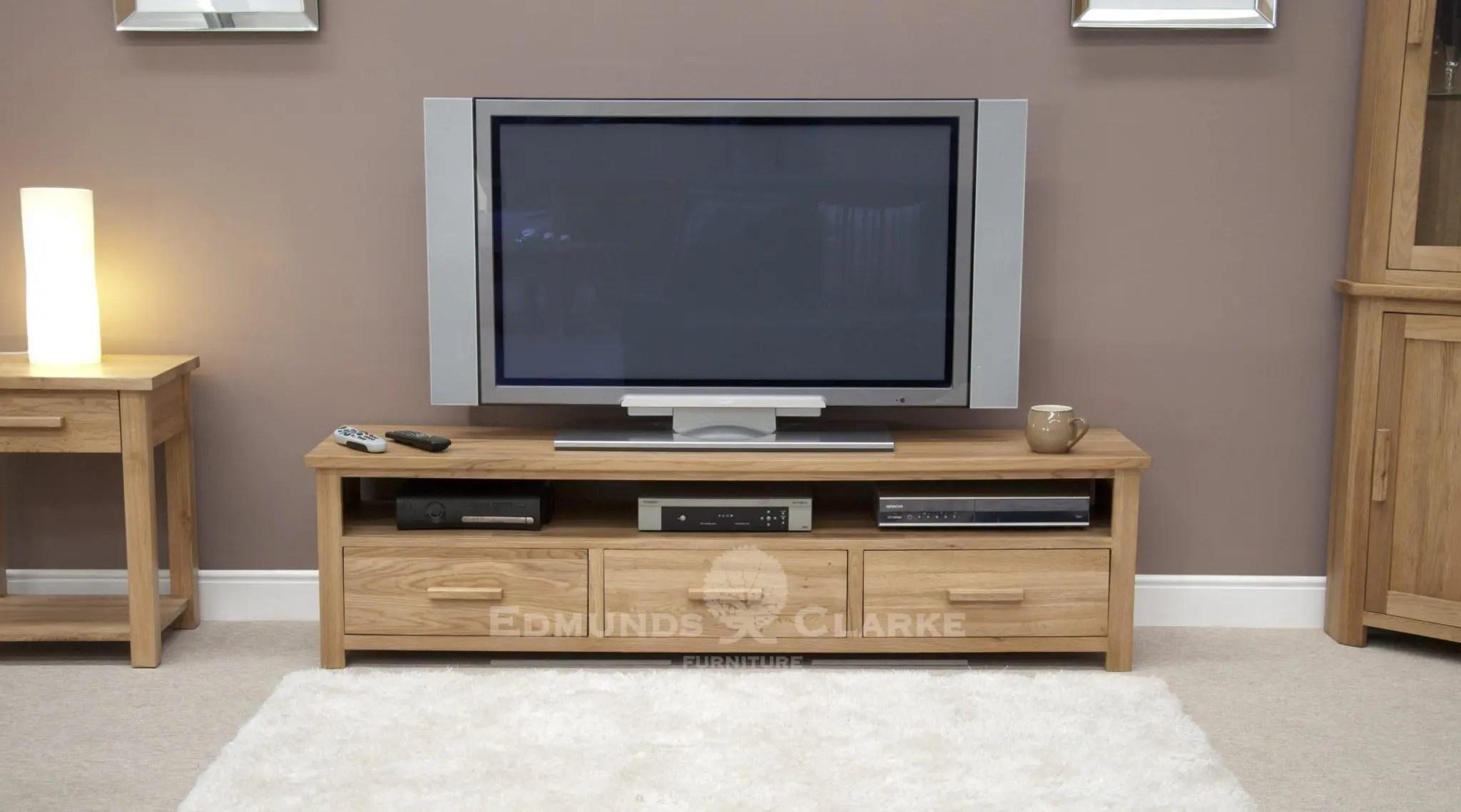 new style 78922 94530 Bury Oak Wide Plasma Unit