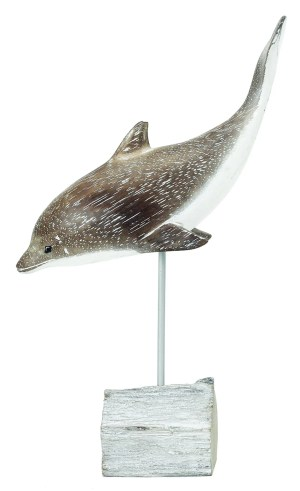 Archipelago Diving Dolphin Wood Carving D202. Fair Trade