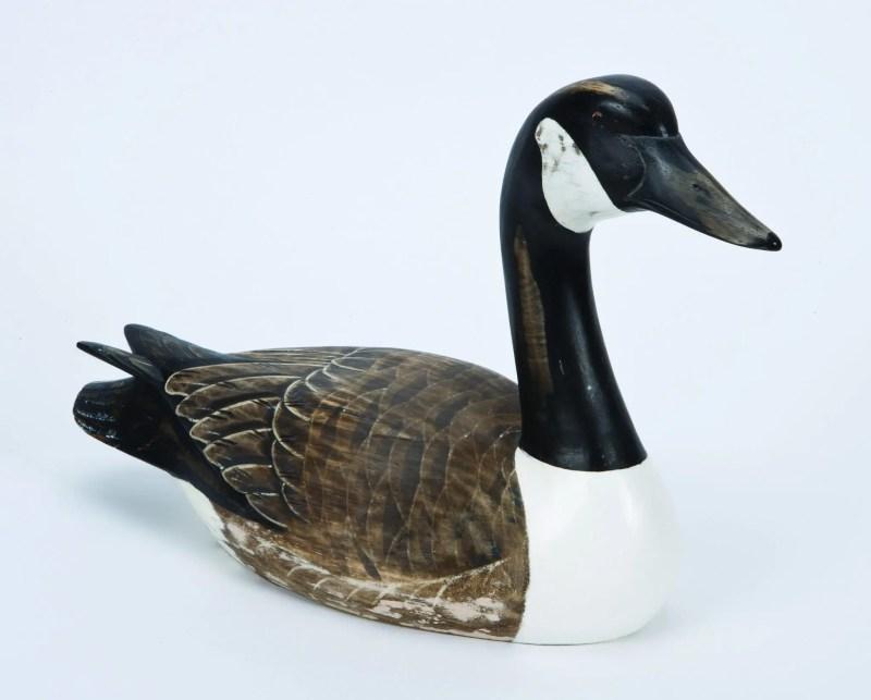 Archipelago Canada Goose Wood Carving D374