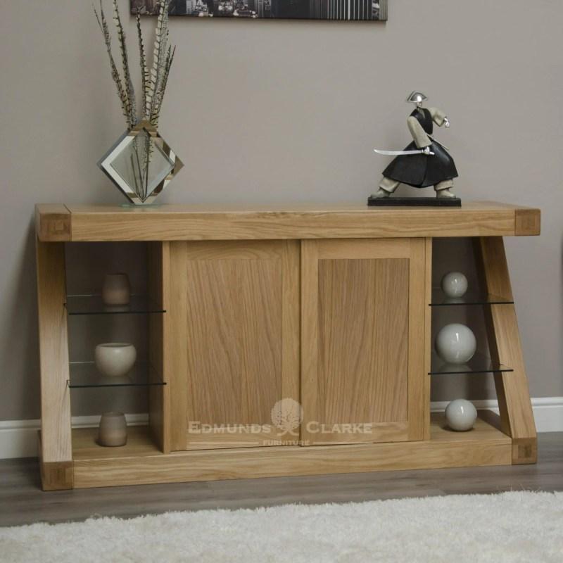 Z designed solid oak sideboard modern design ZLSB