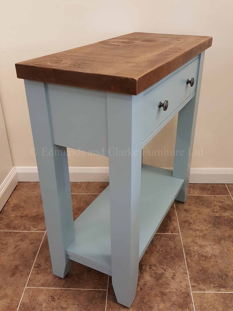 Edmunds hall console table with single drawer