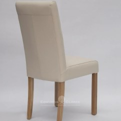 Ivory Dining Chairs Uk Wooden Restaurant High Chair Canada Marianna Bycast Leather Edmunds