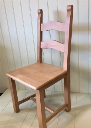 Bretton chair waxed