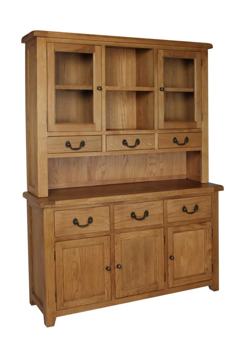 SOM053 Somerset oak large complet dresser