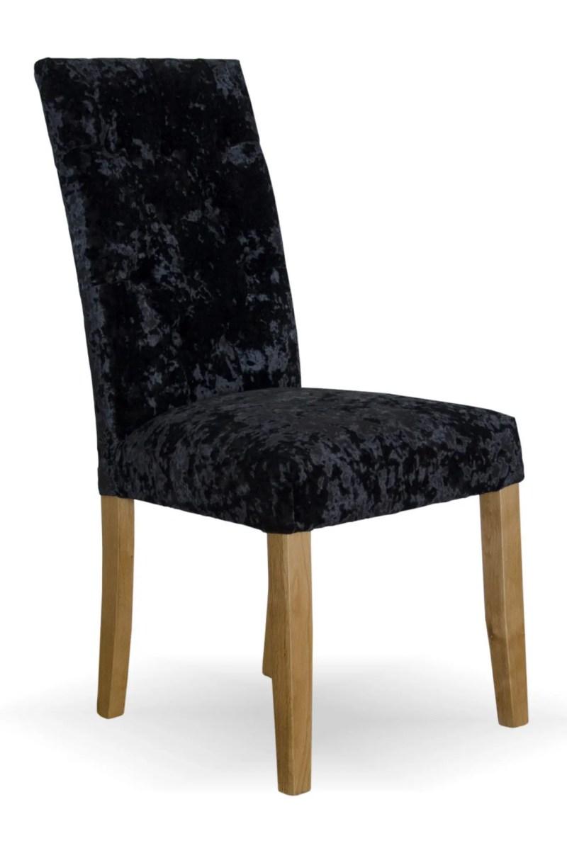 Stockholm Chair deep black crushed