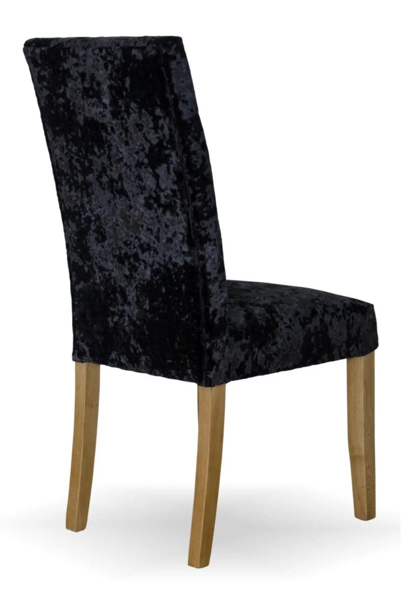 Stockholm chair - deep crushed black1