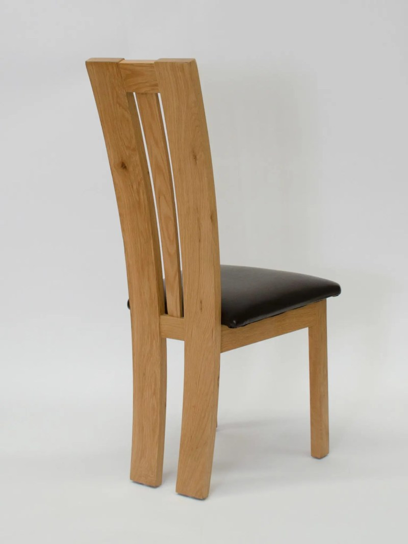 VENEZIA oak dining chair Back