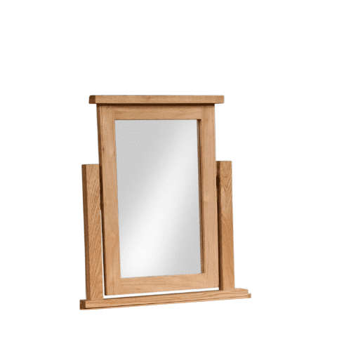 Dorset oak dressing table mirror