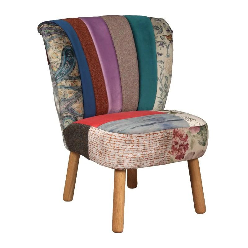 Belton patchwork chair