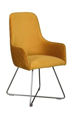 Utah dining chair mustard