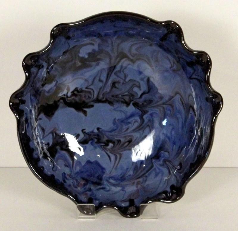 Blue Splashy bowl