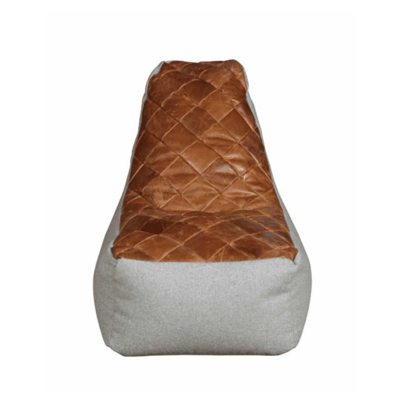 Bean Bag Pod Chair - 3L Cerato Leather front
