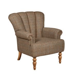 vintage sofa company lily chair in harris tweed cerato hunting lodge