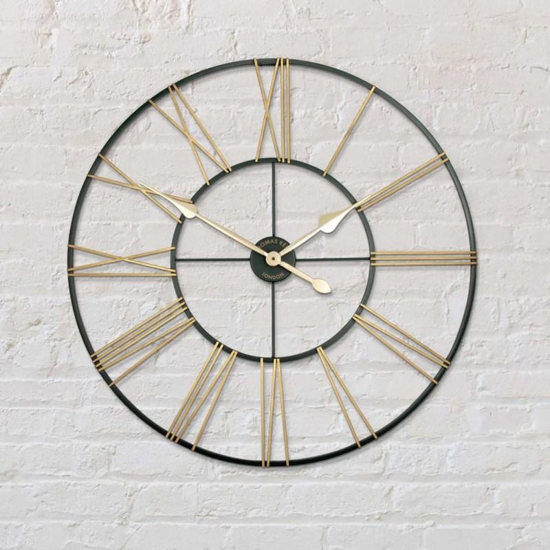 thomas kent 32 inch summer house wall clock v2 room shot