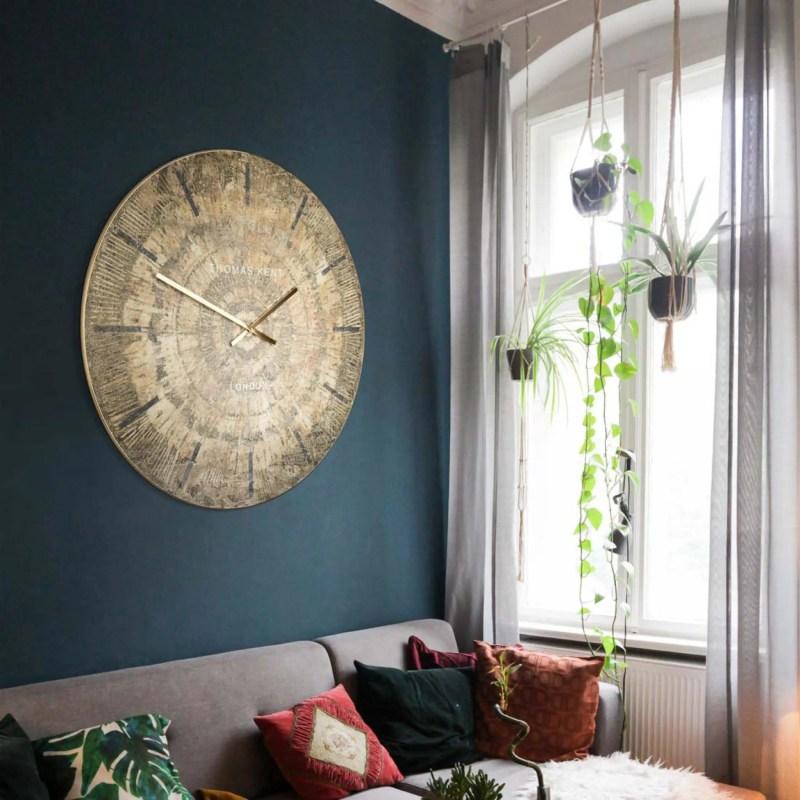 thomas kent 36 inch Starburst Grand Clock room shot