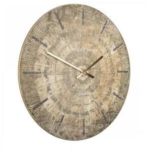 thomas kent 36 inch Starburst Grand Clock side view
