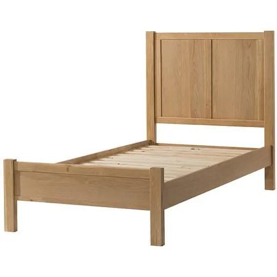 BF0031 Burford oak single bed