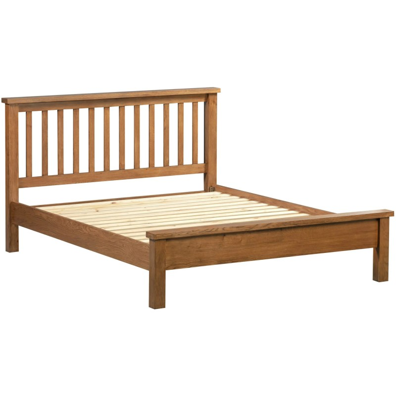 DOR045R Dorset oak double bed