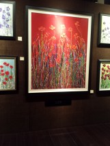 "Gloria Lee ""Flower Power"" art at EC Gallery"