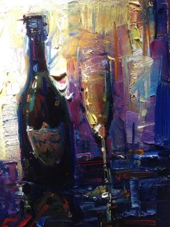 New original oil painting by Michael Flohr